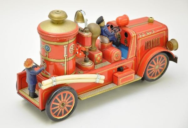 232: Large Modern Toy Fire Engine - 2
