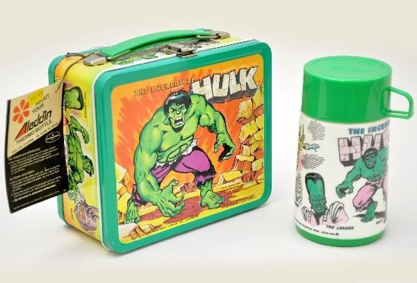 450: Mint The Incredible Hulk Lunch Box