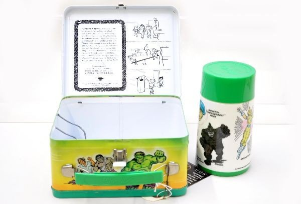 450: Mint The Incredible Hulk Lunch Box - 3