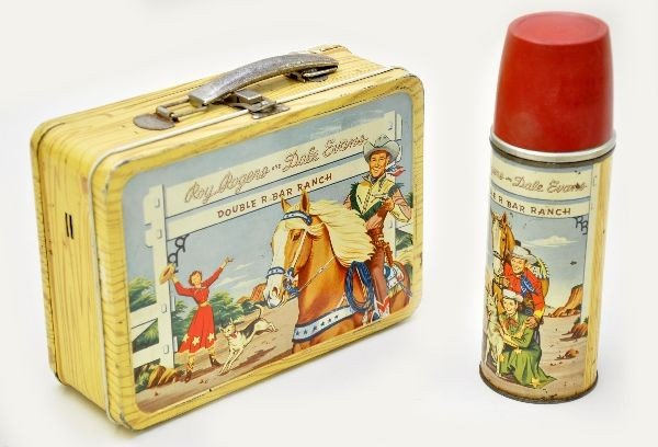 456: Early Roy Rogers Lunch Box
