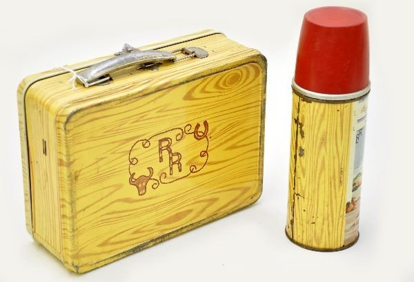 456: Early Roy Rogers Lunch Box - 2