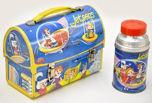 482: Scarce The Jetsons Dome Lunch Box