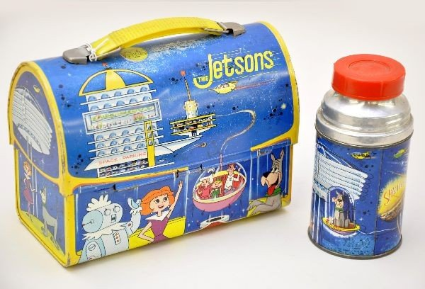 482: Scarce The Jetsons Dome Lunch Box - 2