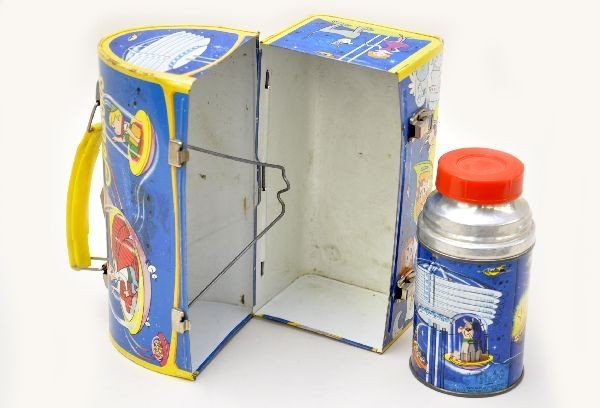 482: Scarce The Jetsons Dome Lunch Box - 3