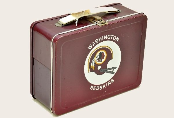 555: Washington Redskins Lunch Box