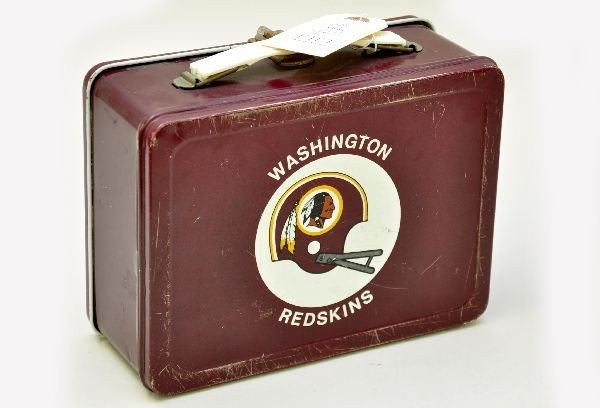 555: Washington Redskins Lunch Box - 2
