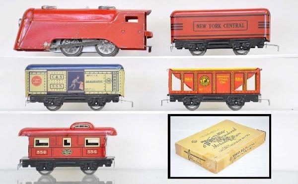 2: Boxed Marx Mechanical Set 969