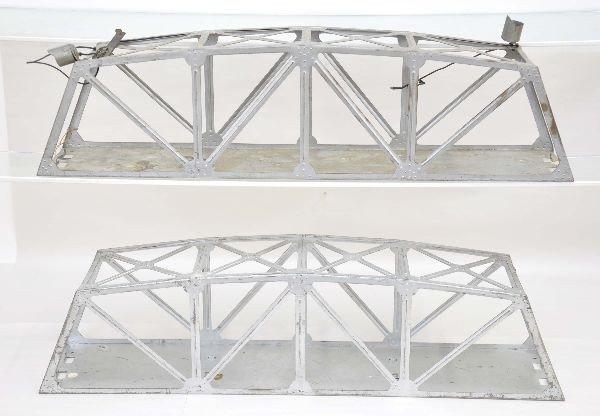 5: Two Marx Prototype Trestle Bridges