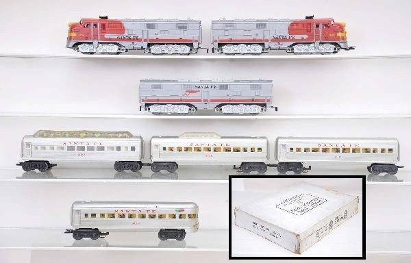 10: Boxed Marx Triple Diesel Set 44875L