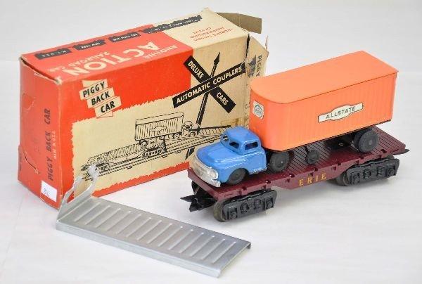 11: Boxed Marx Allstate Piggy Back Car