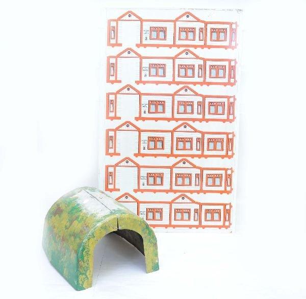18: Marx Prototype Tunnel & Uncut Production Sheet
