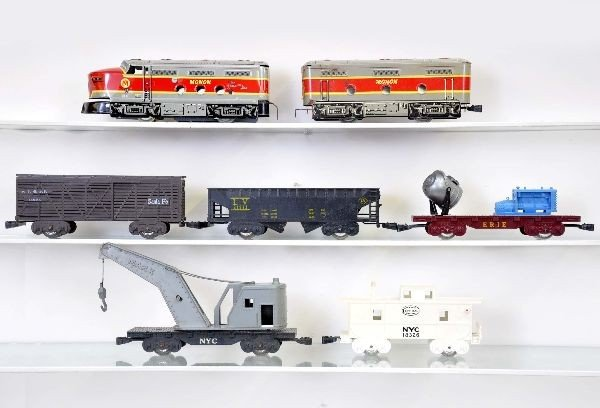 19: 7 pc. Marx Diesel Freight Set