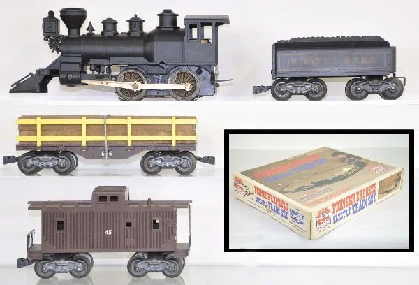 24: Boxed Marx/Sears Pioneer Express Set