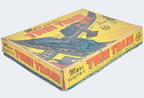 27: Rare Boxed Marx Twin Train Set 39350 - 2