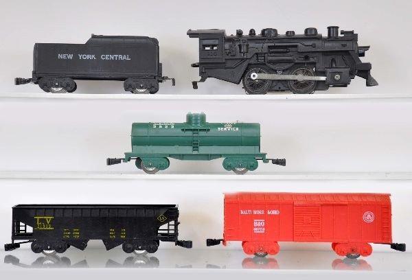 27: Rare Boxed Marx Twin Train Set 39350 - 3