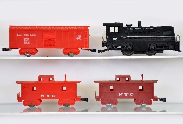 27: Rare Boxed Marx Twin Train Set 39350 - 4