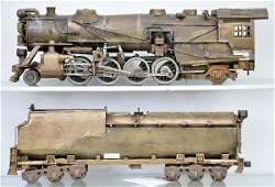 322 Brass OScale Steam Locomotive  Tender