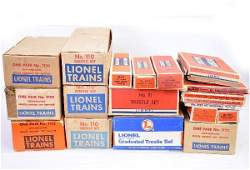 718: Large Group of Lionel Track & Switches