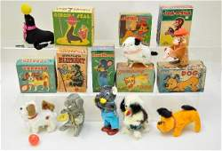 215: Boxed Japanese Wind-Up Toys