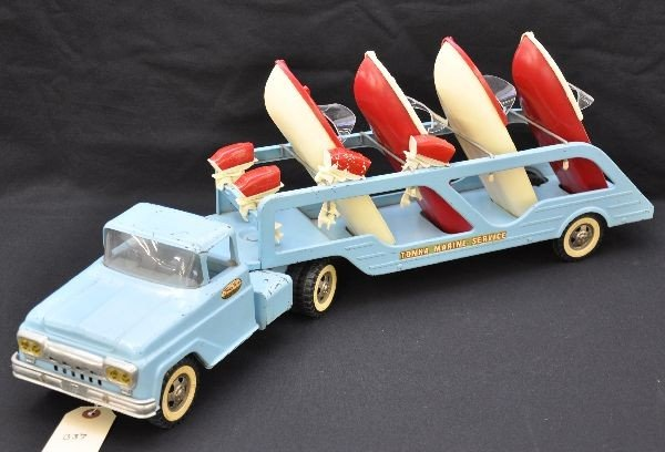 372: Scarce 1961 Tonka Boat Loader