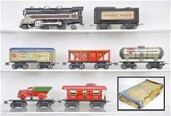 553: Boxed Marx Pre-War Freight Set