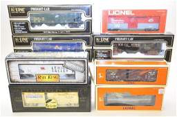 846: Mixed Boxed Modern Freight Cars