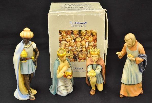 5: Hummel Nativity Figurines