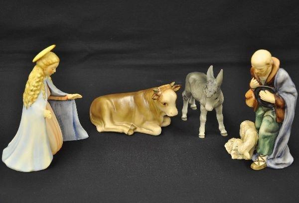 6: Hummel Nativity Figurines