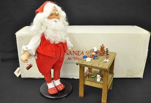 7: Danbury Mint Santa Claus Figure