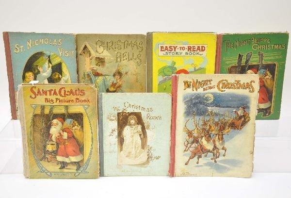 15: Antique Childrens Christmas Books