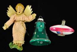 24: Early Christmas Ornament Lot
