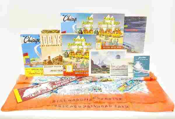 140: Chicago Railroad Fair Memorabilia