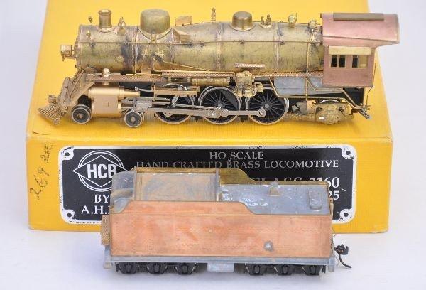 157: HCB HO Brass Santa Fe Loco 425