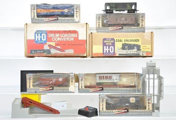 160: Boxed American Flyer HO Lot