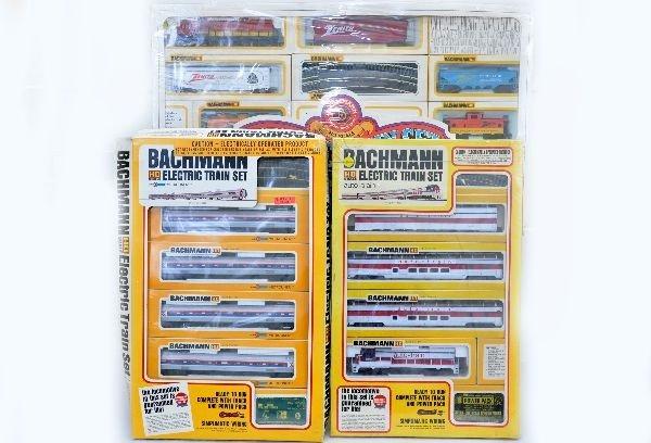 170: Mint Bachmann HO Train Sets