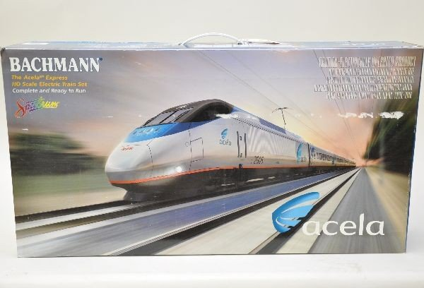 171: Boxed Bachmann Amtrak Acela Set