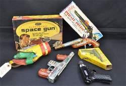 813: Early Toy Guns Lot