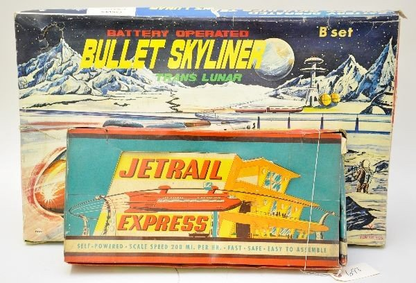 916: Boxed Monorail Toys