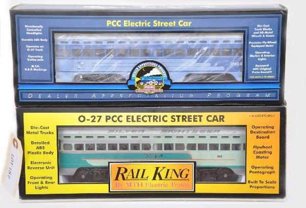 152: Boxed MTH Street Cars