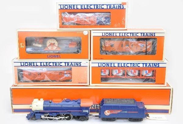 154: Lionel Train Set