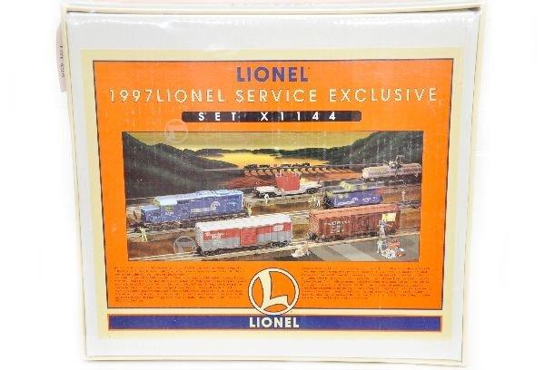 162: Sealed Boxed Lionel 11918 Conrail Set