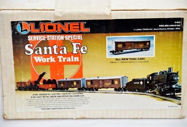 164: Boxed Lionel Santa Fe Work Set 1632