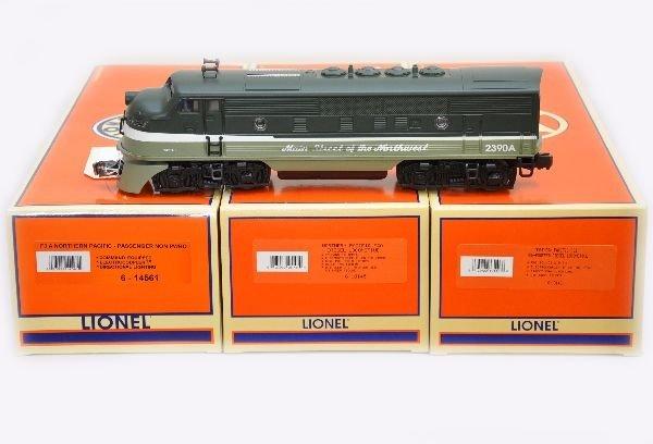 171: Lionel 18145 NP F3 ABA Diesels