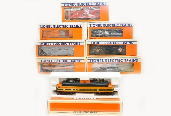 179: Boxed Lionel GN Fallen Flags Set