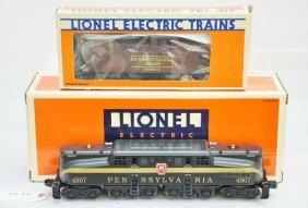 Boxed Lionel 18313 PRR GG1 & Caboose