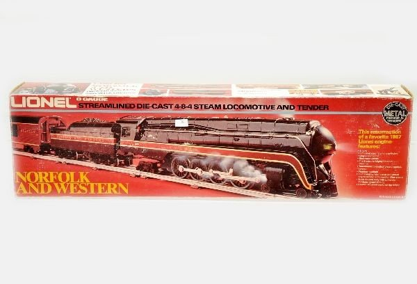 185: Boxed Lionel 8100 N&W Steam Loco