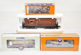Boxed Lionel PRR Freight Set