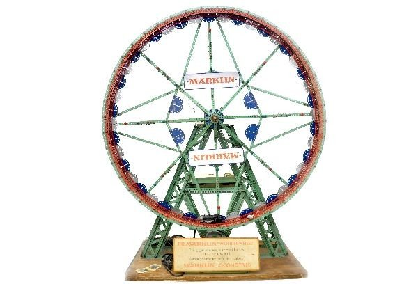 332: Rare Marklin Wonder Wheel Store Display