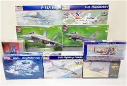 814 9 Boxed 148 Scale Airplane Model Kits