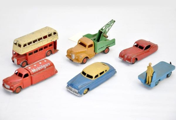 3: Dinky Vehicle Lot